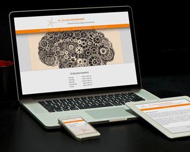 Responsive Neuropsychiatrie Webdesign Umsetzung Drupal